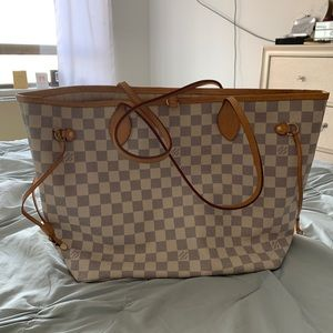 Louis Vuitton Neverful Bag-Beige GREAT CONDITION🌟